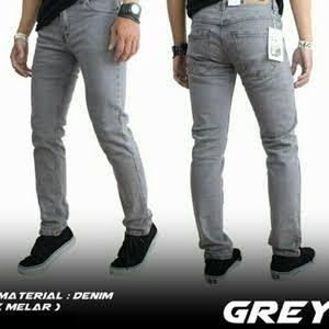 Foto Produk CELANA JEANS CHEAP MONDAY SKINNY FIT GREY/ PENSIL ABU-ABU dari BDG Grosir Jeans & Chino