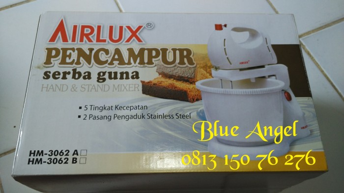 harga Airlux stand hand mixer hm-3062a murah meriah bagus Tokopedia.com