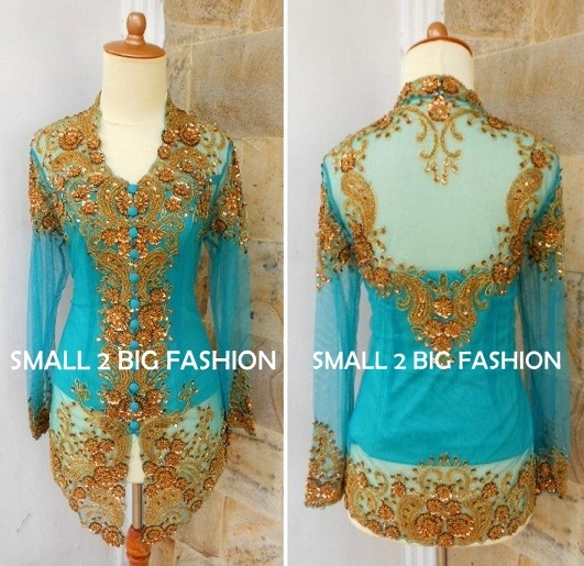 Jual Kebaya Modifikasi Kebaya Bali Kebaya Muslim Kebaya Panjang Akad Kota Surabaya Small 2 Big Fashion Tokopedia
