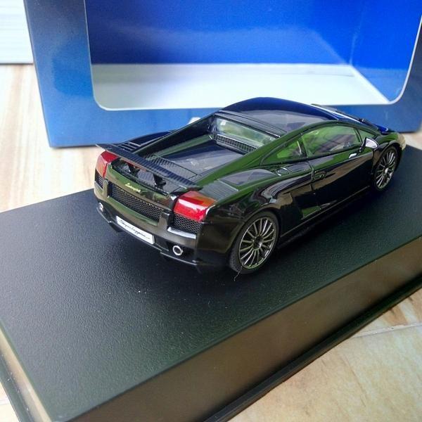 Jual Lamborghini Gallardo Superleggera Black 1 43 Autoart Kota