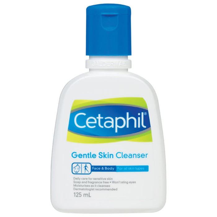 harga Cetaphil gentle skin cleanser 125ml Tokopedia.com