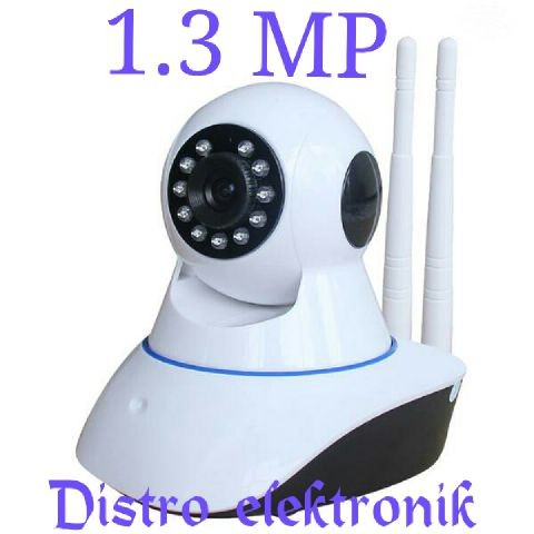 harga Wireless ip camera / baby cam / baby monitor / cctv wireless 2 antena Tokopedia.com