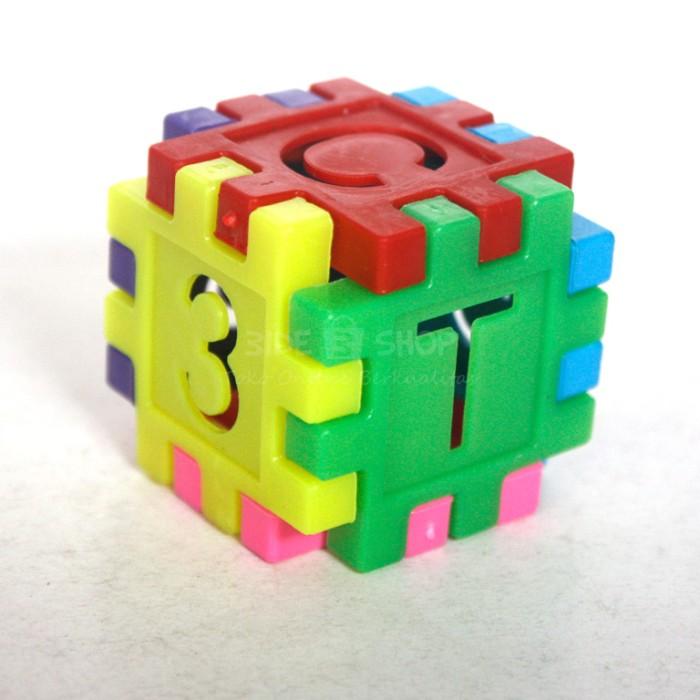 Mainan Edukasi Block Susun Kotak Balok Lego Brick Blocks Angka Huruf .