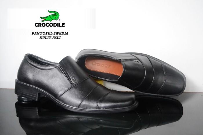 harga Sepatu pantofel pria crocodile swedia made in france kulit asli  Tokopedia.com 23b2071b3b