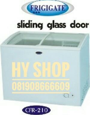 harga Frigigate freezer sliding glass door crf-210 Tokopedia.com