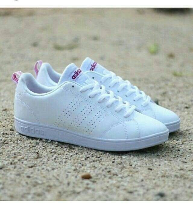 c3d73cec76ab6 cheap sepatu adidas neo advantec termurah original cewek putih 75863 42c12