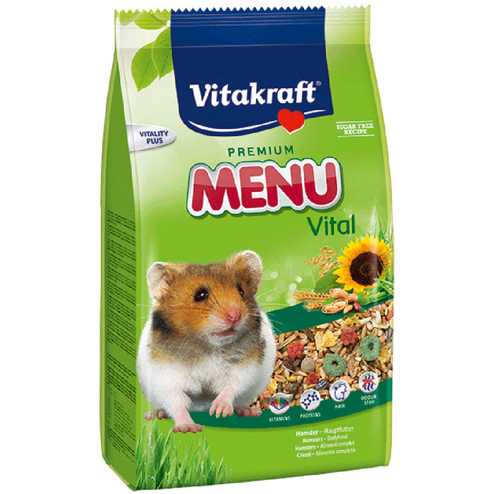 Jual Hamsfood makanan hamster 1kg syalupetsshop Tokopedia Source · Vitakraft menu for hamster 1 kg makanan