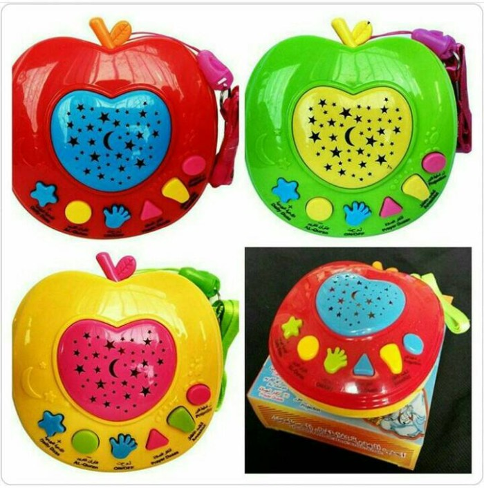 Mainan Edukasi Apel Quran ( Apple Learning Alquran ) 6 Tombol