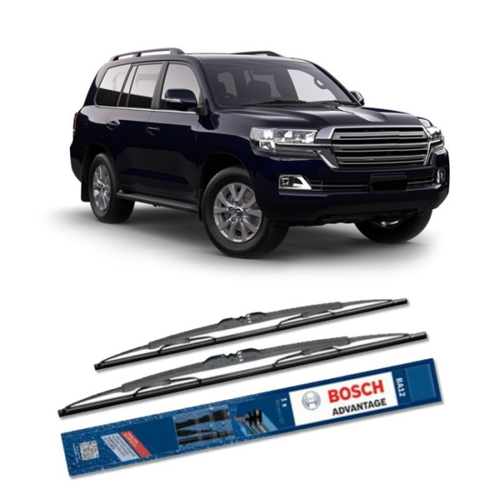 Jual Bosch Sepasang Wiper Mobil Toyota Landcruiser (2008) Advantage 17&17  Harga Promo Terbaru