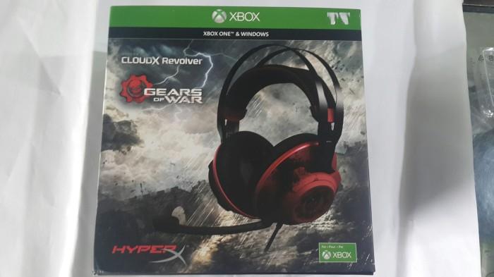 harga Kingston  hyperx cloud revolver  gears of war gaming  headset Tokopedia.com