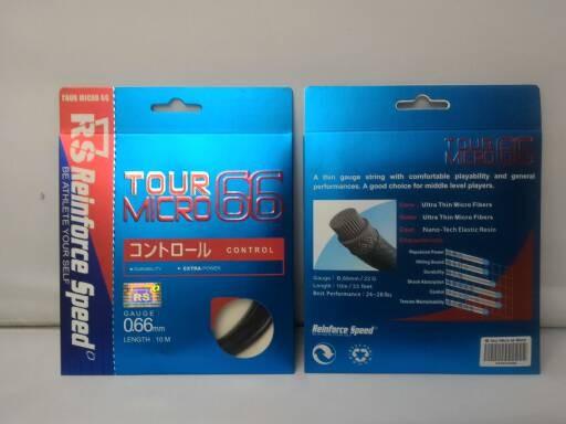 harga Senar badminton rs - tour micro 66 (original) Tokopedia.com