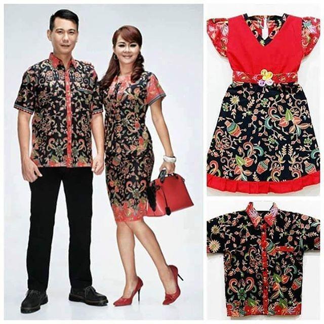Jual Baju Batik Couple Set Keluarga Murah Medan Terbaru - Batik Zada ... 3fc14a8db1