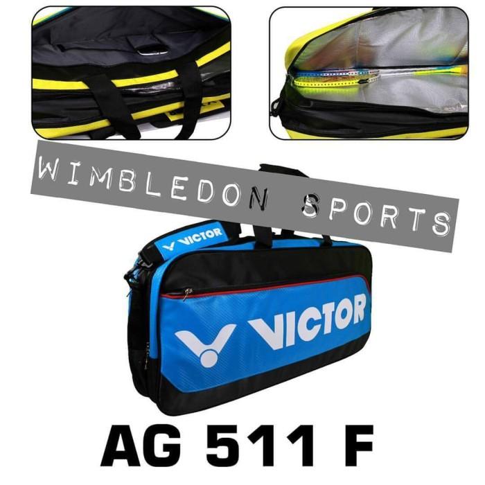 harga Promo !! tas victor ag511f / tas badminton ag 511f original Tokopedia.com