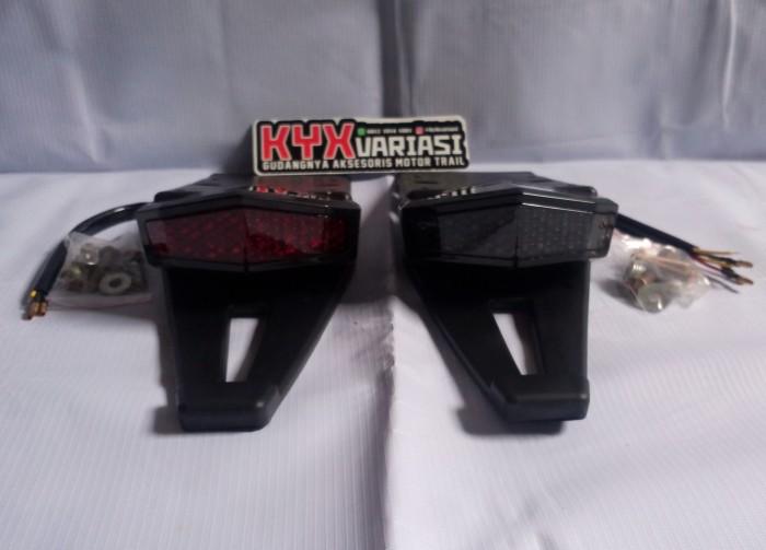 harga Aksesoris motor trail stoplamp spakbor belakang kawasaki klx dtracker Tokopedia.com