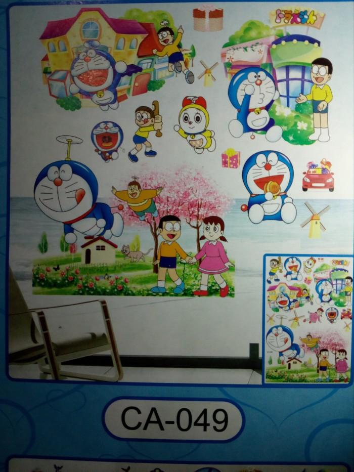 jual wall sticker stiker dinding 3 d 5 d 34 doraemon amp friend 34