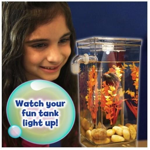 harga Aquarium mini self cleaning my fun fish tank filter akuarium ikan Tokopedia.com