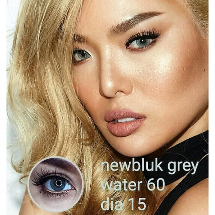 Newbluk Softlens - Gray (Abu abu)