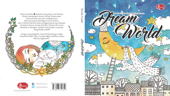 Coloring Book Dream World