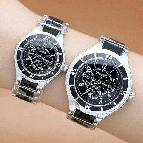 harga Jam tangan chanel couple variasi chrono keramik murah Tokopedia.com