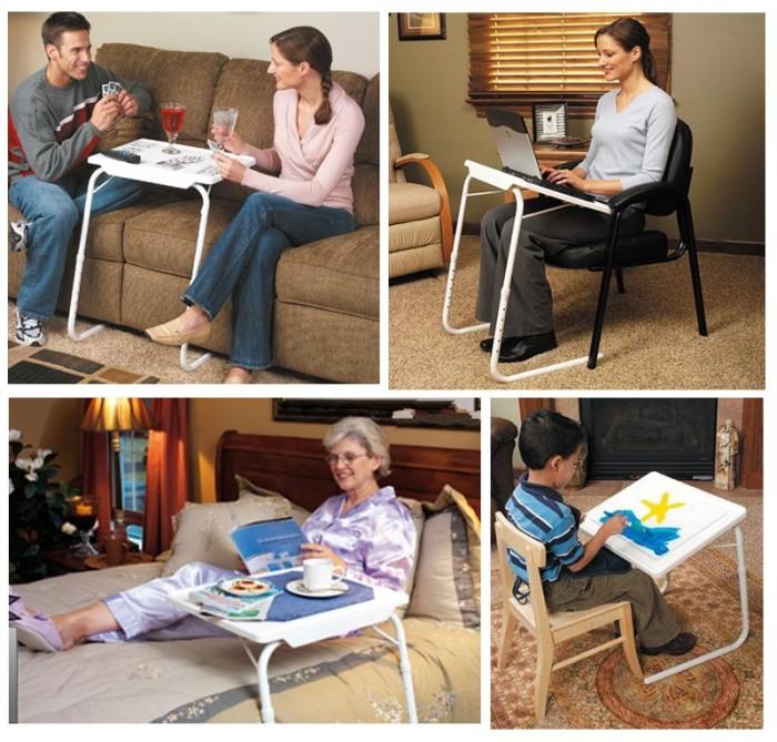 harga Meja lipat table mate 2 anak belajar laptop foldable desk serbaguna Tokopedia.com