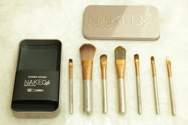 harga Brush / kuas make up naked isi 7pcs / 7 pcs / 7 piece - kaleng