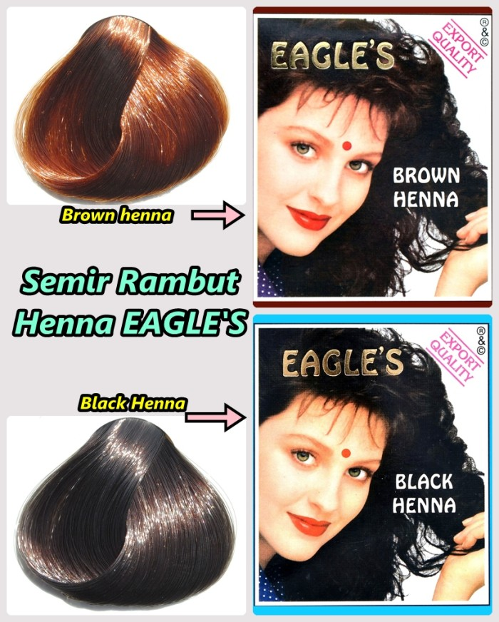 Jual Cat Rambut Semir Rambut Henna Eagle S Eagle Kinophie Sby