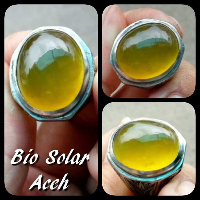 harga Cincin batu akik bio solar aceh high quality Tokopedia.com