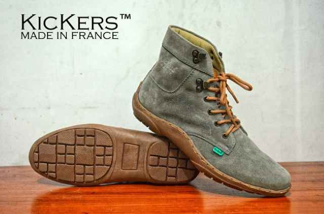 harga Sepatu casual santai pria - kickers boot casual Tokopedia.com