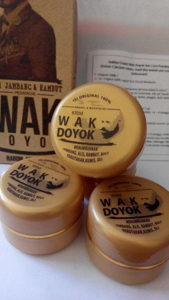 Cream Krim Wak Doyok Wakdoyok Rambut Jambang Sample Jar Original 100 Sampel 125ml