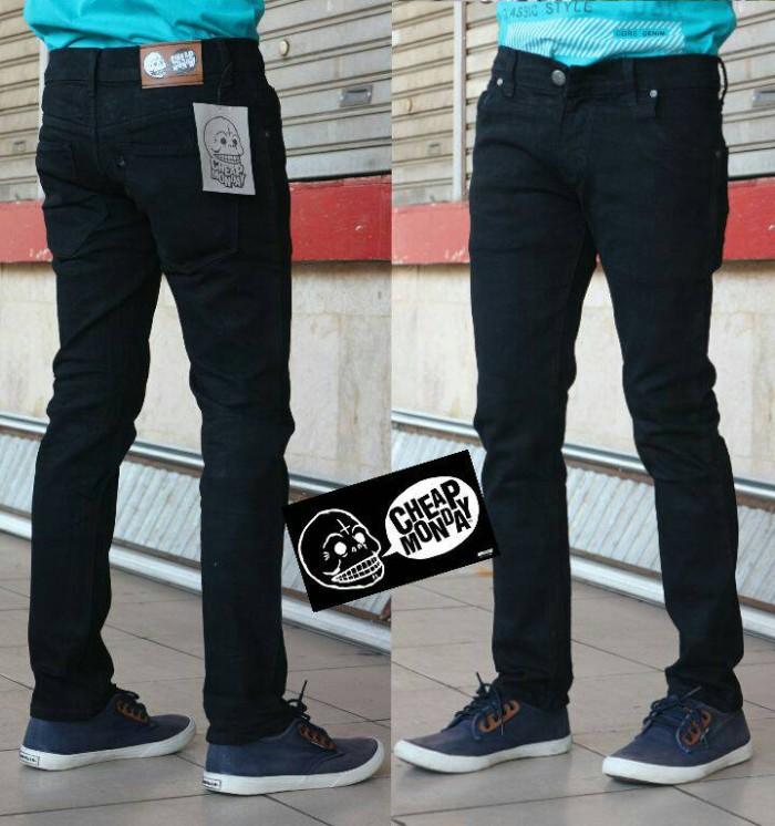 harga Cheap monday skinny celana jeans pria pensil Tokopedia.com