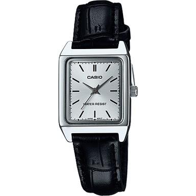harga Jam tangan casio ori bisa couple tipe ltp-v007l-7e1udf tali kulit Tokopedia.com