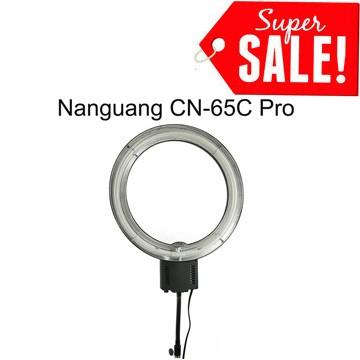 harga Nanguang cn-65c pro macro ring light 5400k 65w (with dimmer) Tokopedia.com