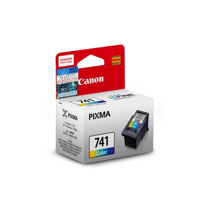 harga Tinta Canon 741 Ori / Canon Ink Cartridge Cli 741 Colour / Cli - 741 Blanja.com