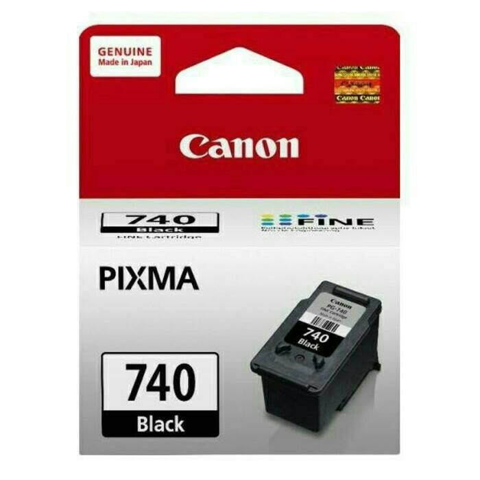 harga Tinta Canon 740 Ori / Canon Ink Cartridge Pg740 Black/ Pg - 740 Original Blanja.com