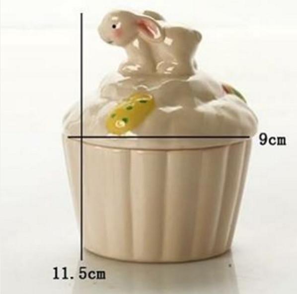 harga Toples keramik bunny - candy storage Tokopedia.com