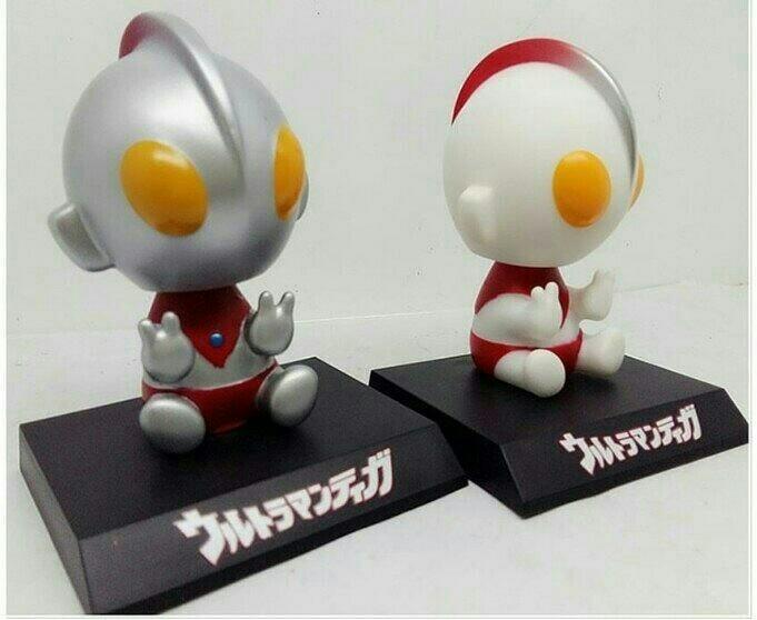 harga Mainan figure pajangan unik hiasan mobil dashboard ultraman Tokopedia.com