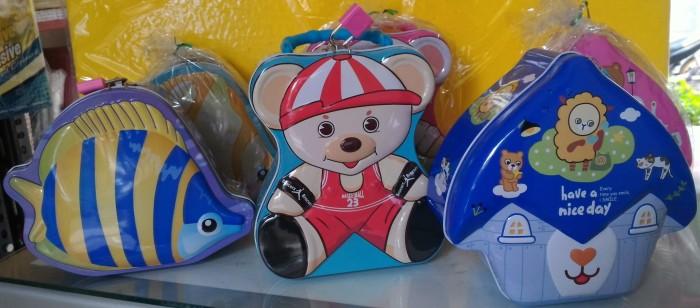 harga Celengan kaleng gambar ikan-boneka-rumah Tokopedia.com