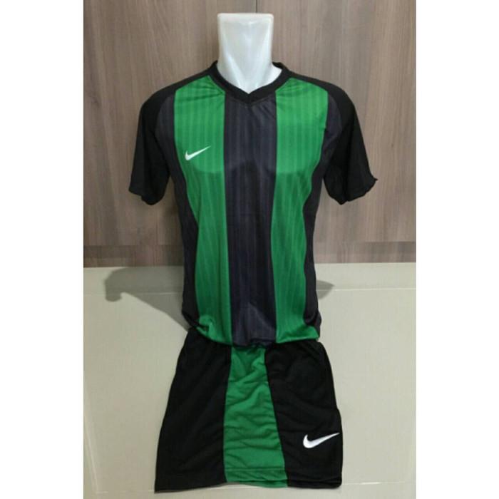 harga Jersey stelan futsal nike barca home hijau-hitam official 2016 Tokopedia.com