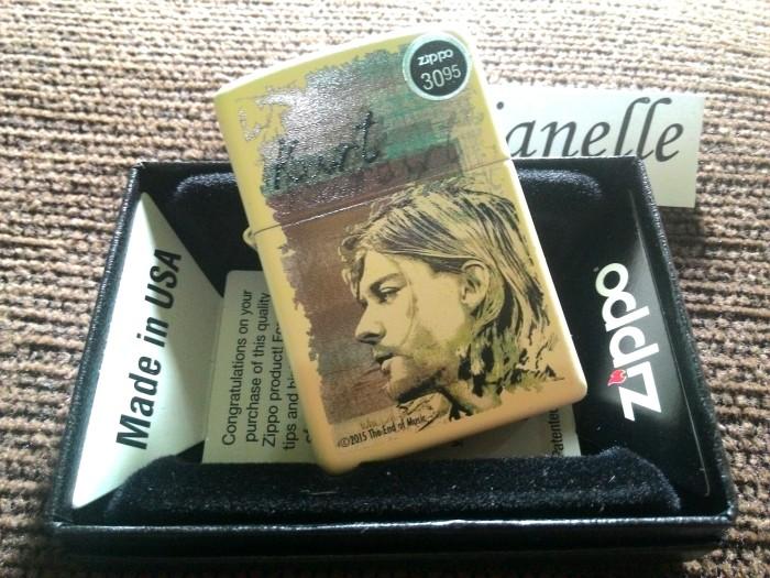 Zippo Kurt Cobain cream matte 29051 #original