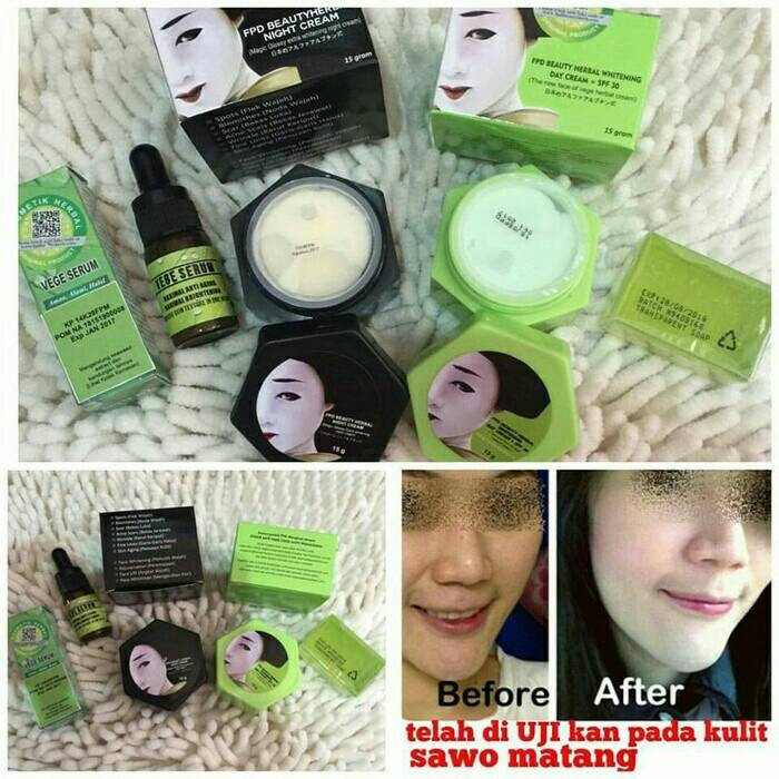 Paket Cream Wajah FPD/Magic Glossy 4 in 1