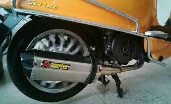 harga Knalpot vespa sprint 150 cc Tokopedia.com
