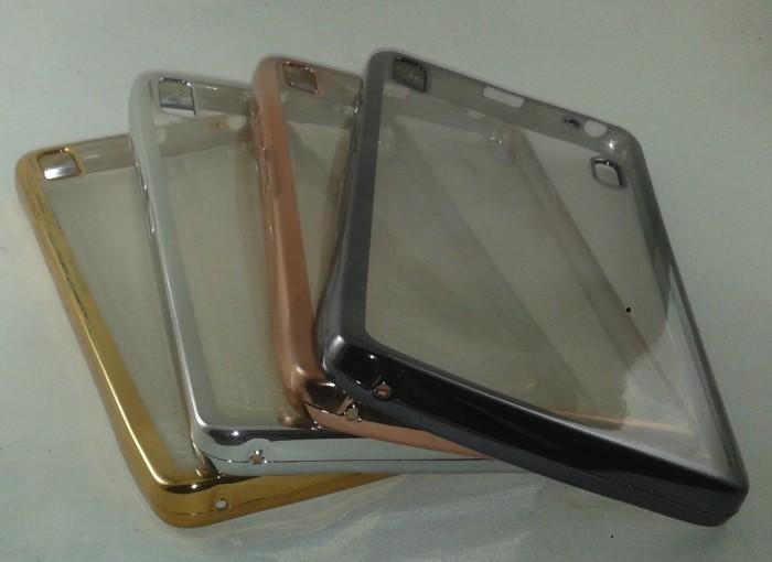 TPU Shining Chrome Jelly Case Silicon Lenovo A7000 / A7000 Plus