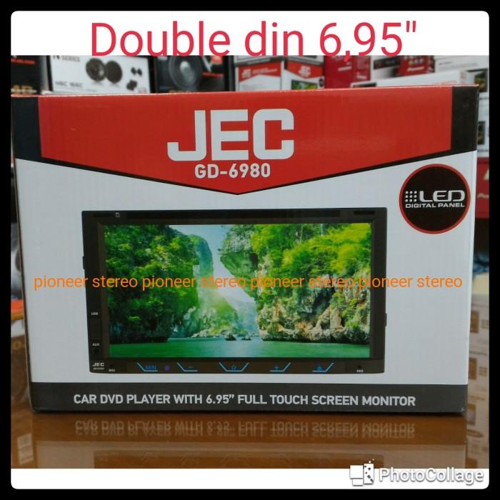 harga Jec double din 695  gd 6980 Tokopedia.com