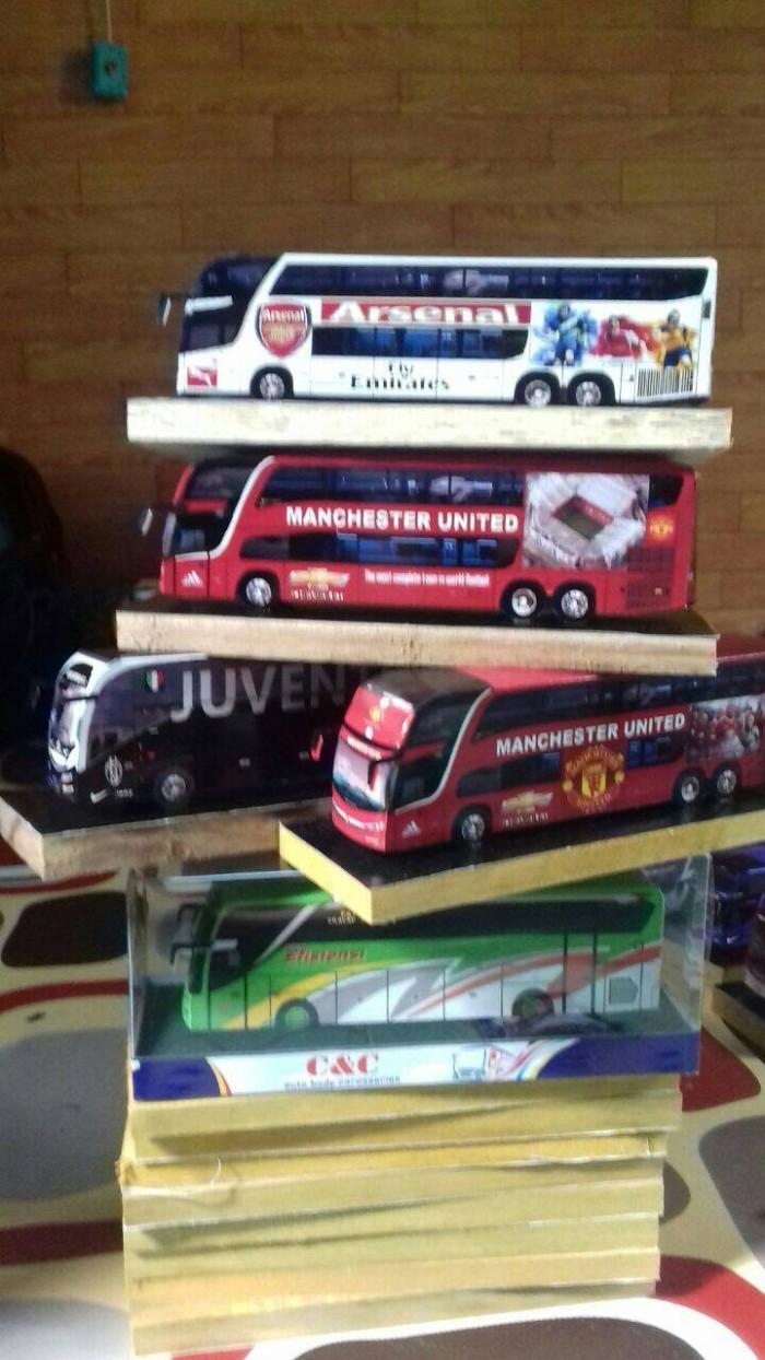 Jual Miniatur Bus ARSENAL MANCHESTER United JUVENTUS Kab Kebumen JOGGERKEBUMEN