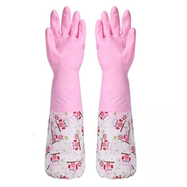 harga Sarung tangan karet / rubber gloves / sarung tangan cuci Tokopedia.com