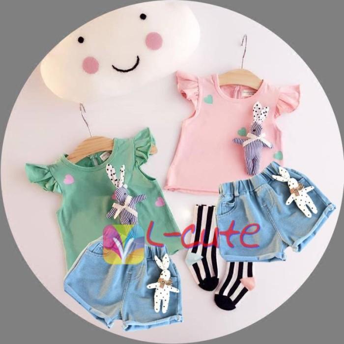 Foto Produk L-Cute 2-16 pink (081538) Limited dari Naaina Shop