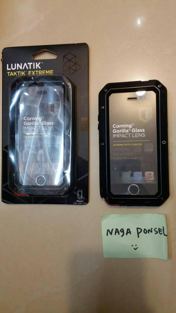 huge selection of 66227 72ff9 Jual Iphone 5 / 5S Case Lunatik Taktik Extreme Casing Cover Anti Shock -  DKI Jakarta - Naga ponsel | Tokopedia