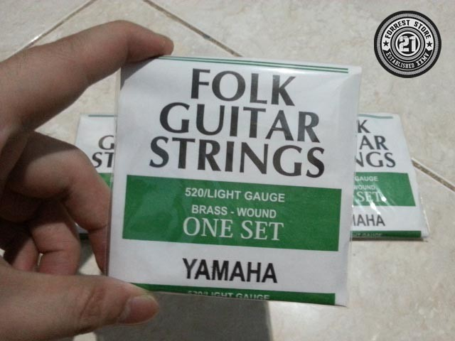 Senar Gitar Akustik Yamaha Folk Guitar Strings