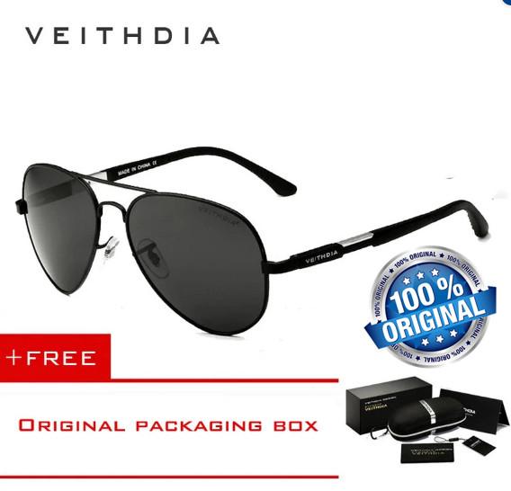 54df54daaa Kacamata VEITHDIA 6695 Aluminum Magnesium Men s Sunglasses Polarized