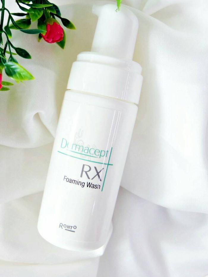 Dermacept RX Foaming Wash 100mL Sabun Wajah Muka Sensitif Kombinasi